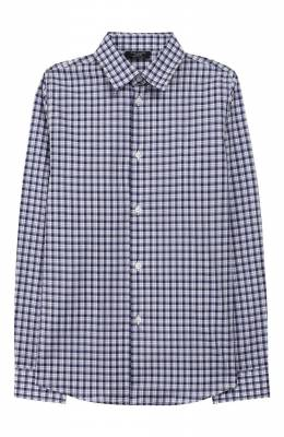 Хлопковая рубашка Dal Lago N402Q/8707/7-12