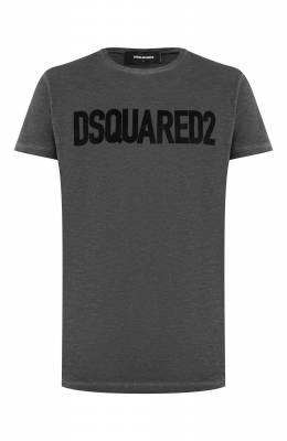 Хлопковая футболка Dsquared2 S74GD0587/S22146