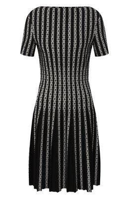 Платье из смеси вискозы и шерсти Alaia 9W9RM74CM490