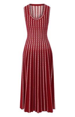 Платье из смеси вискозы и шерсти Alaia 9W9RM75LM490