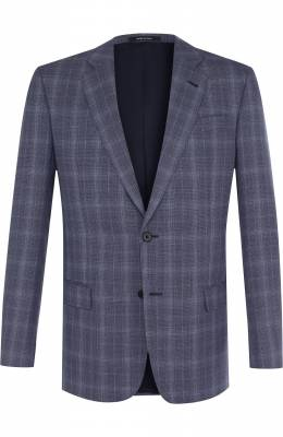 Однобортный шерстяной пиджак Giorgio Armani WSGE20/WS849