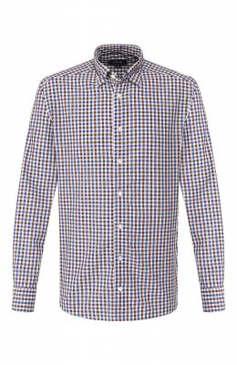 Рубашка из смеси хлопка и льна Eton 9506 62580