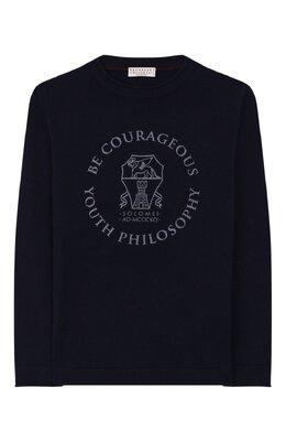 Кашемировый пуловер Brunello Cucinelli B2211930A