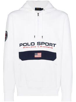 Polo Ralph Lauren худи с воротником на молнии и логотипом 710790860002