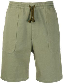 Nanushka шорты-бермуды с кулиской MSH00011