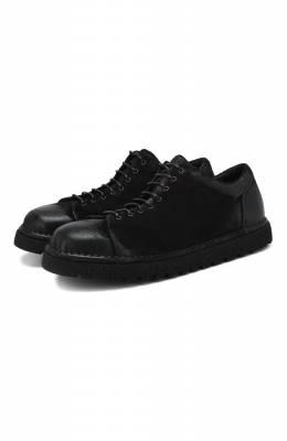 Замшевые ботинки Marsell MMG350P/PELLE R0VESCI0