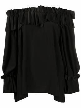 P.a.r.o.s.h. блузка с открытыми плечами POTEREXD311233