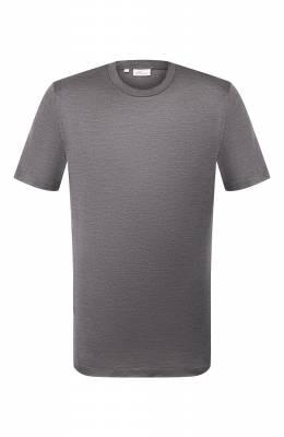 Шелковая футболка Brioni UJCH0L/P8619
