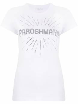 P.a.r.o.s.h. футболка со стразами D110612COMANIA