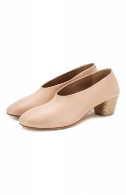 Кожаные туфли Marsell MW4207/PELLE VITELL0