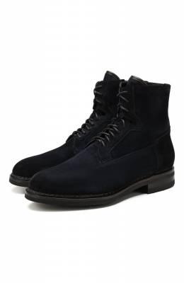Замшевые ботинки Santoni MCC017072MI5YR0QU58