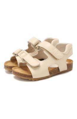 Кожаные сандалии Il Gufo G550/VITELL0 CERV0/23-26