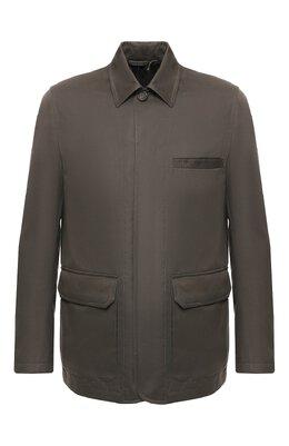 Куртка из смеси хлопка и кашемира Brioni SFNE0L/P603C
