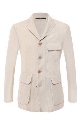 Льняной пиджак Giorgio Armani 9SGGG06S/T00PI