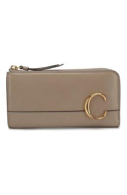 Кожаный кошелек Chloe CHC19WP084A37