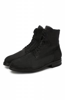 Замшевые ботинки Santoni MCC017072MI5YR0QG56
