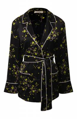 Шелковая блузка Dorothee Schumacher 648601/CHERRY BL0SS0M