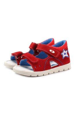 Кожаные сандалии с застежкой велькро Falcotto 0011500772/02