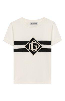 Хлопковая футболка Dolce&Gabbana L1JT6M/G7TYZ