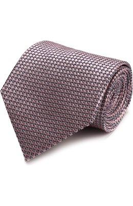 Шелковый галстук с узором Ermenegildo Zegna Z9D451XW