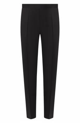 Шерстяные брюки прямого кроя Boss by Hugo Boss 50375814