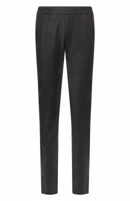 Кашемировые брюки прямого кроя с поясом на резинке Bottega Veneta 511144/VELA0