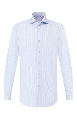 Хлопковая сорочка Kiton UCCH0709301