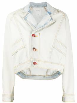 Sandro джинсовая куртка из вареного денима SFPBL00296