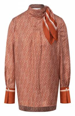 Шелковая блузка Chloe CHC20SHT81350