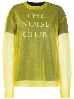 MCQ by Alexander McQueen джемпер The Noise Club 579180ROK01