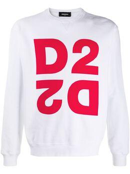 Dsquared2 толстовка с круглым вырезом и логотипом S74GU0390S25042
