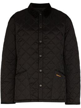 Barbour стеганая куртка Heritage Lidde MQU0240BK11