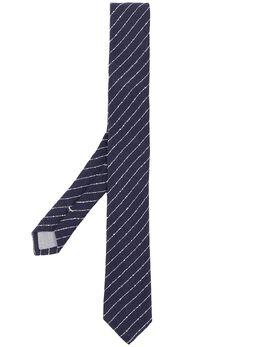 Eleventy трикотажный галстук в полоску 979CR0015CRA27007