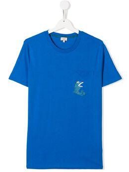 Paul Smith Junior футболка Abrino с графичным принтом 5Q10572
