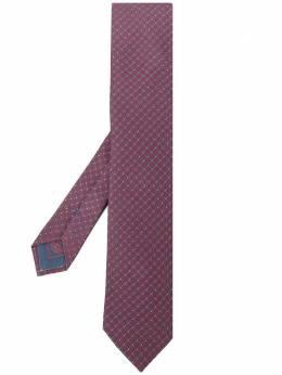 Brioni галстук с геометричным принтом O61D00P940H