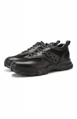 Кожаные кроссовки Zegna Couture A4255X-LHXFA