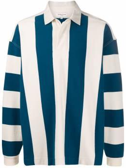Ymc полосатая рубашка-поло P7NAJ