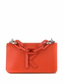 Kenzo сумка через плечо Kandy с металлическим логотипом FA52SA320L24