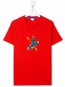 Paul Smith Junior футболка Adibo с графичным принтом 5Q10692