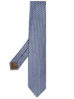 Brioni галстук с геометричным принтом 061D00P941X