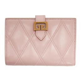 Givenchy Pink Medium GV3 Wallet BB601GB08Z