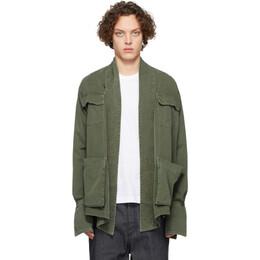 Greg Lauren Green Baker Studio Jacket SS20M133