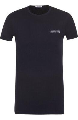 Комплект из двух хлопковых футболок с круглым вырезом Dirk Bikkembergs B41308T48