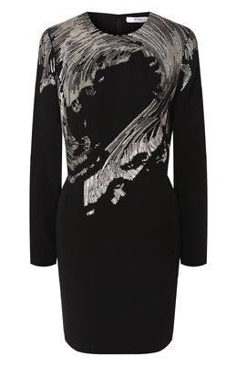 Платье с пайетками Givenchy BW20FWG0DZ