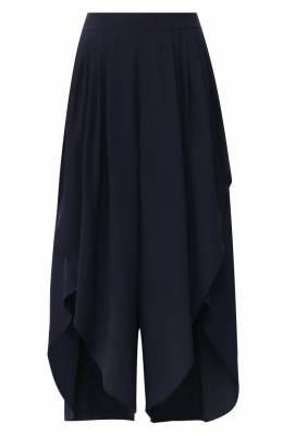 Шелковые брюки Chloe CHC19SPA15004