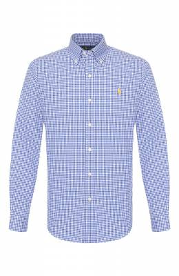 Хлопковая рубашка Polo Ralph Lauren 710794610/4352A