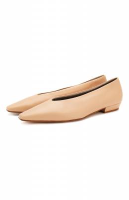 Кожаные балетки Bottega Veneta 608872/VBSD0