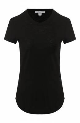 Хлопковая футболка James Perse WUA3037