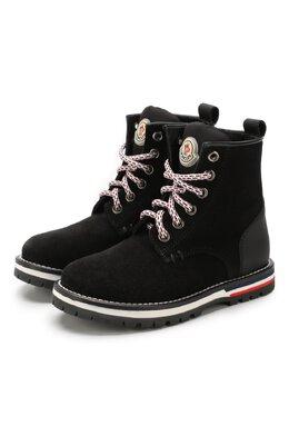 Кожаные ботинки Moncler Enfant E2-954-00401-00-02S4H