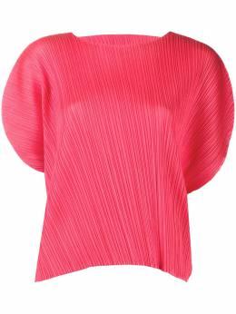 Pleats Please Issey Miyake блузка свободного кроя PP06JK781